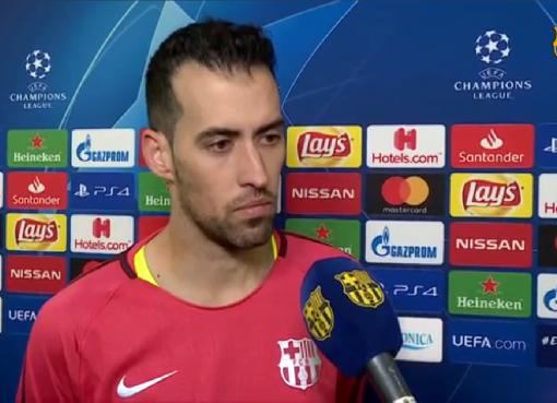 布斯克茨:我们对登贝莱得有耐心,但是他也需要努力