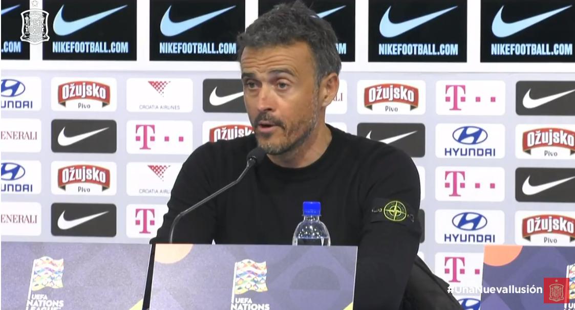 路易斯-恩里克:今天的比赛对西班牙有些不公平