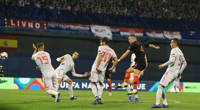 欧国联:耶德瓦伊双响+读秒绝杀,克罗地亚3-2西班牙
