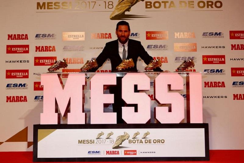 5夺欧洲金靴梅西依然谦逊:成功超乎预料 队友助我登顶