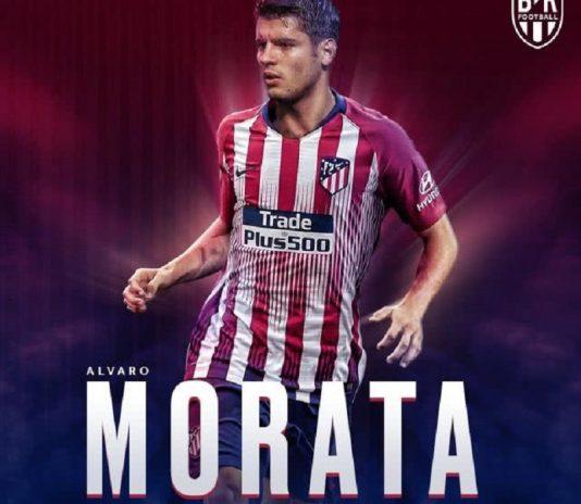 马竞官方宣布莫拉塔租借加盟 皇马旧将时隔1年半重返马德里