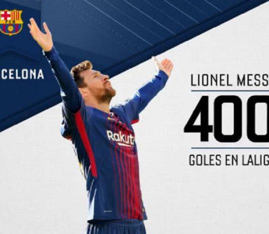 梅西斩西甲400球创历史纪录 五大联赛只剩1目标