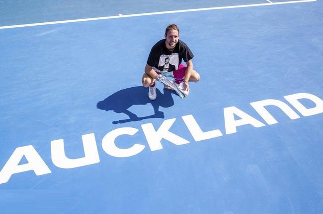 奥克兰赛前澳网八强力克英国帅哥 夺得生涯首冠