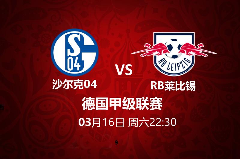 沙尔克04 VS RB莱比锡