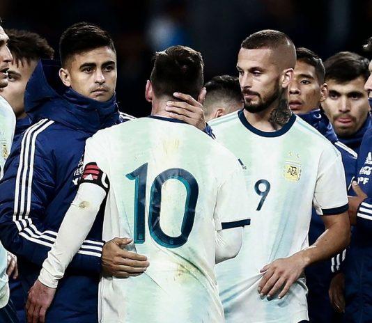 热身赛-梅西回归 国米前锋破门 阿根廷1-3落败