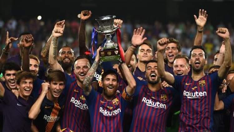 西班牙超级杯改制超级四强赛 明年1月或在中国上演国家德比