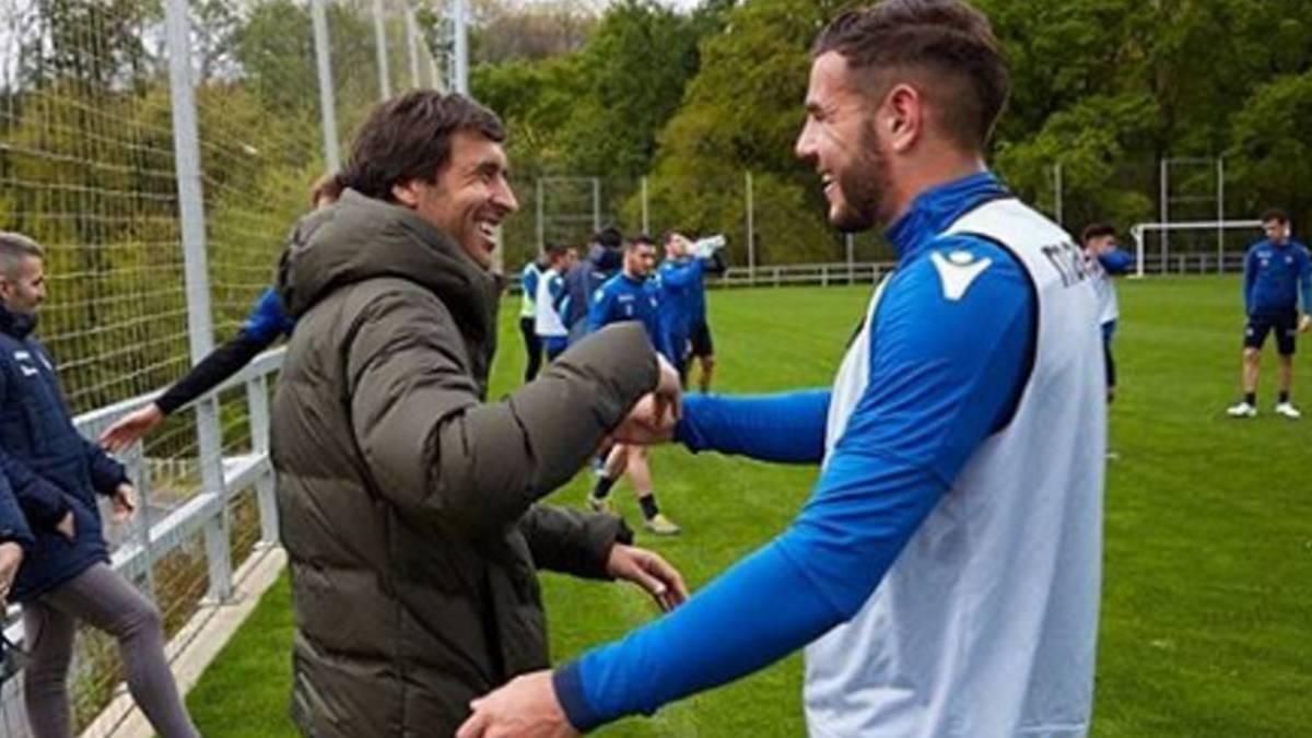 劳尔前往皇家社会实践,完成欧足联Pro教练证学习