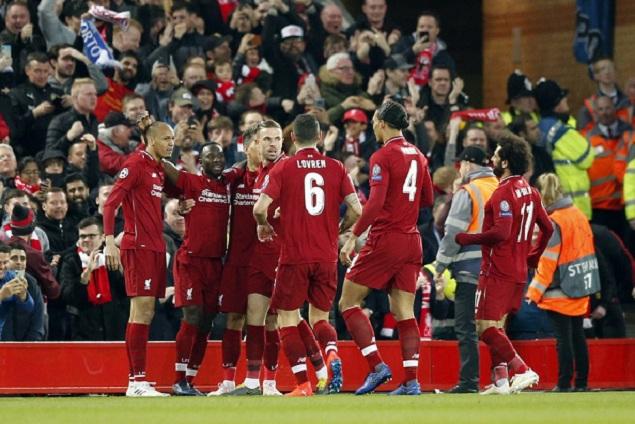 欧冠:菲尔米诺传射凯塔破门,利物浦2-0波尔图占先机
