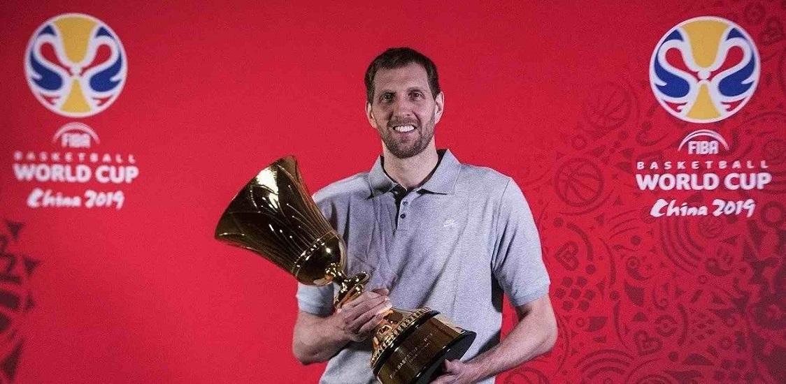诺维斯基担任篮球世界杯全球大使 姚明科比后第三人