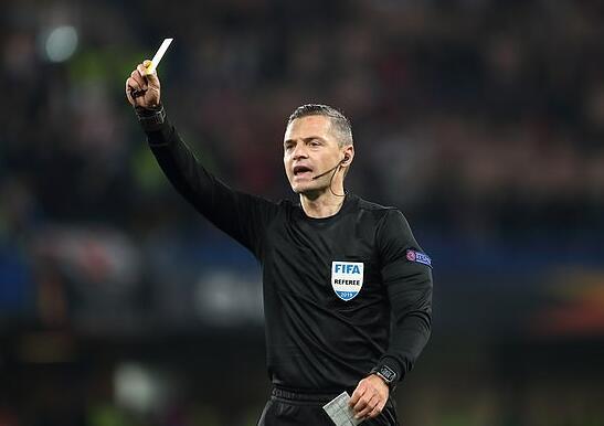 欧冠决赛主裁公布 执法红军输4场 曼联逆巴黎点球
