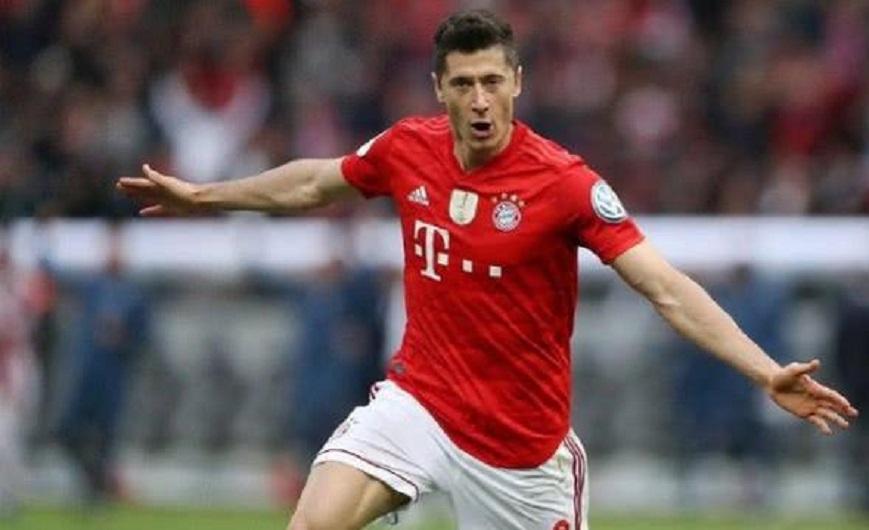 德国杯-拜仁3-0胜莱比锡加冕双冠 莱万梅开二度