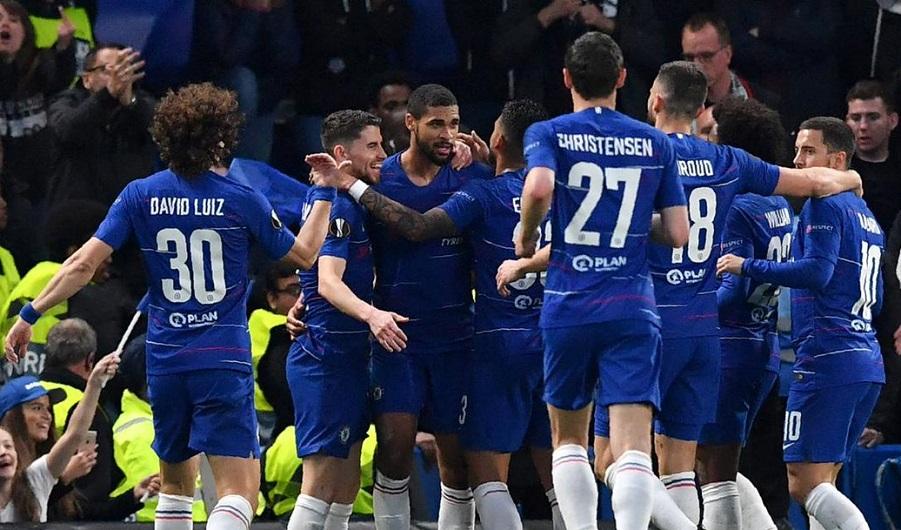 切尔西点球大战总分6-5杀入欧联杯决赛 将与阿森纳演英超德比