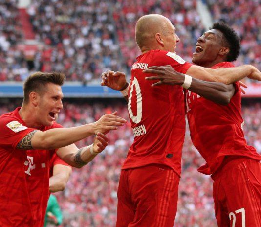 德甲大结局:拜仁成就7连冠 多特莱比锡勒沃获欧冠席位