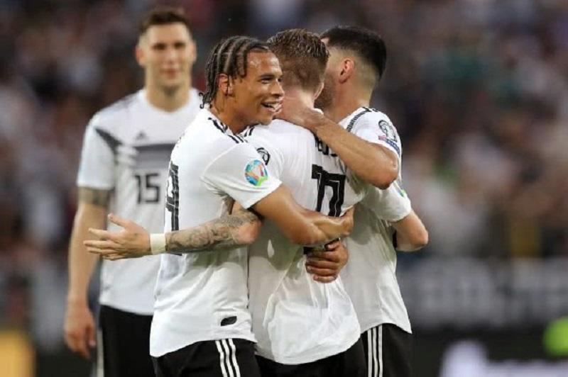 欧预赛-半场5球!德国8-0横扫爱沙尼亚 罗伊斯梅开二度