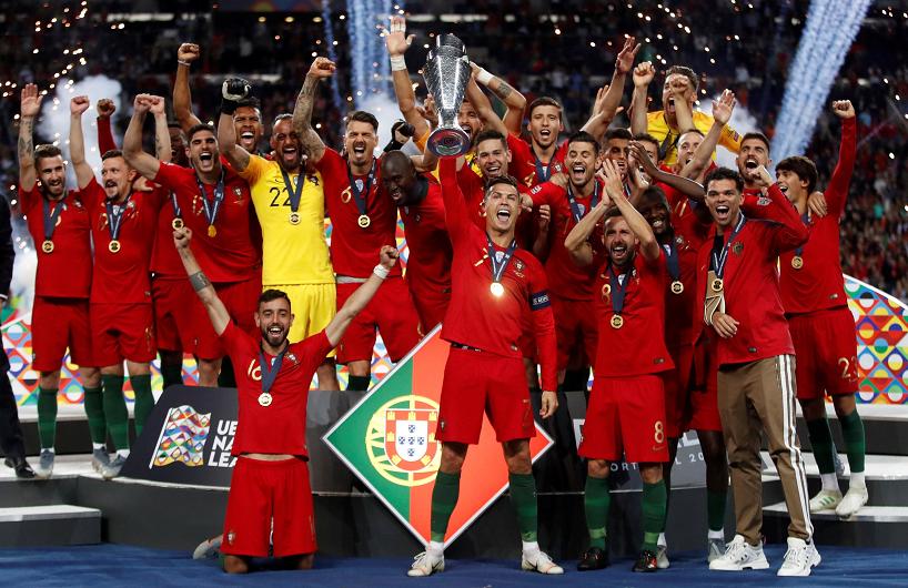 欧国联-葡萄牙1-0荷兰夺首届冠军 格德斯轰决胜世界波
