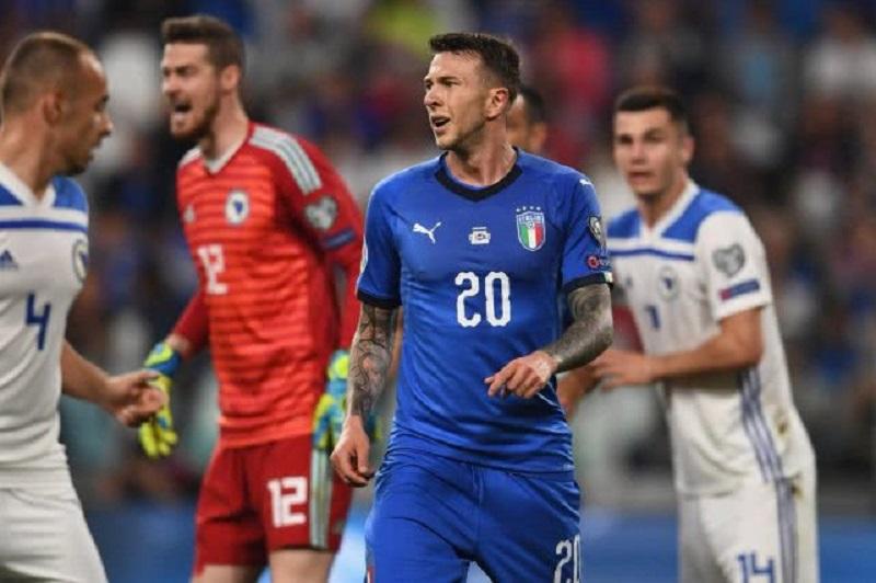 欧预赛-意大利2-1逆转波黑取4连胜 维拉蒂绝杀救主