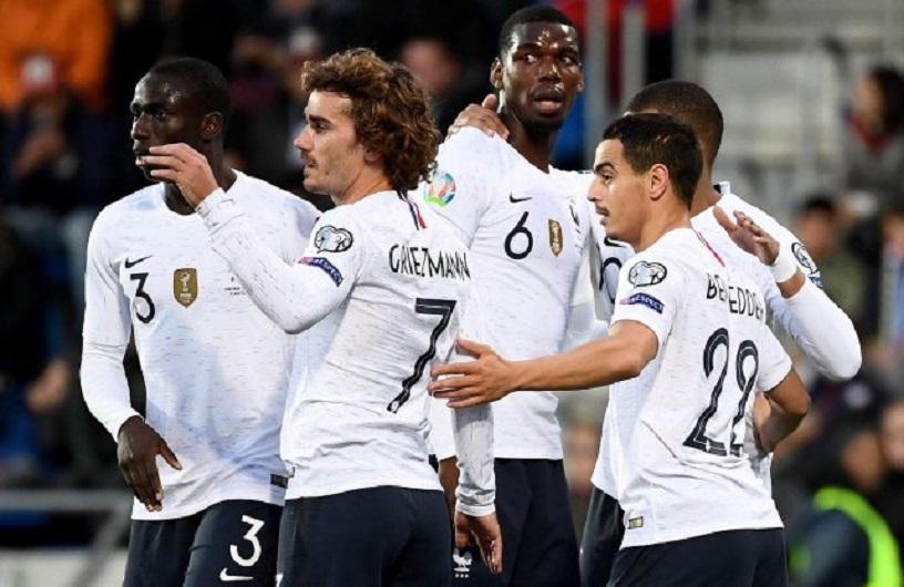 欧预赛-法国队4-0大胜安道尔 姆巴佩收获职业生涯百球