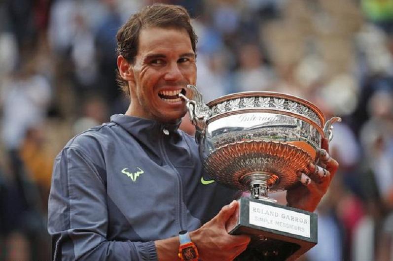 纳达尔成就法网12冠后者难追 15年红土凑齐冠军1打