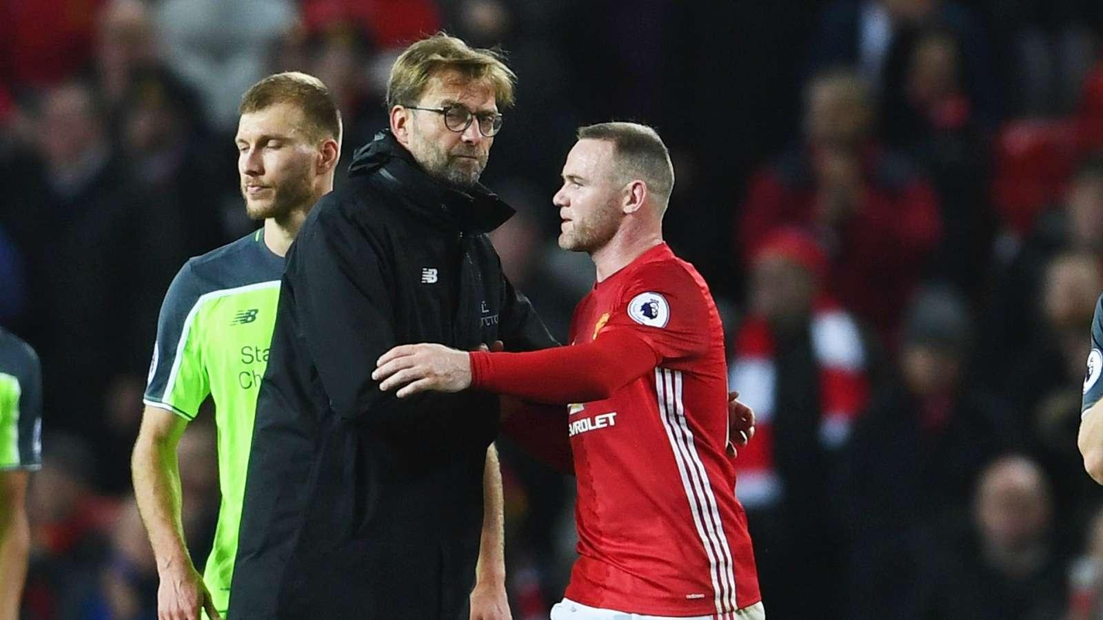 鲁尼打趣克洛普:唯一的错误就是为利物浦工作,还成功了