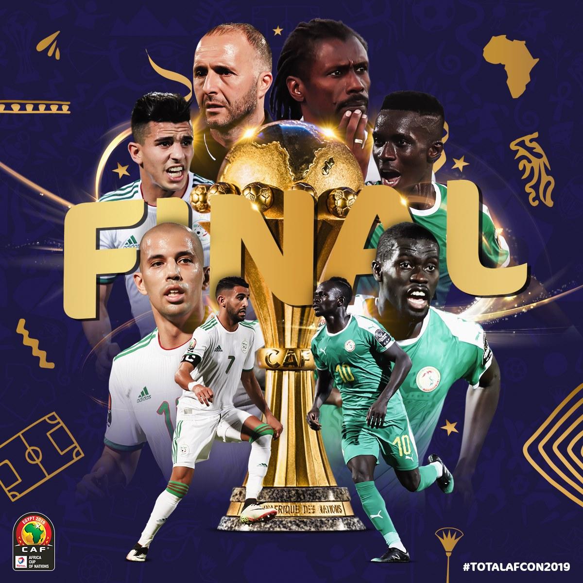 马赫雷斯造乌龙+绝杀!阿尔及利亚晋级非洲杯决赛 将战塞内加尔