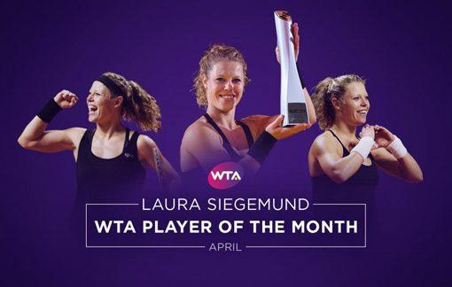 西格蒙德当选WTA四月最佳球员 家乡夺冠完美之旅