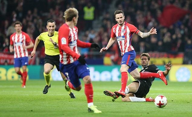 国王杯:迭戈-科斯塔破门难救主,首回合马竞主场1-2塞维利亚