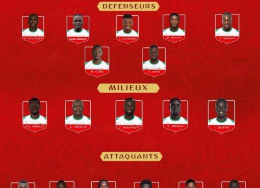 塞内加尔23人名单:马内领衔 那不勒斯铁卫入围