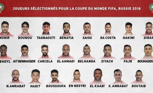 摩洛哥世界杯23人大名单:贝纳蒂亚领衔 众妖人入选