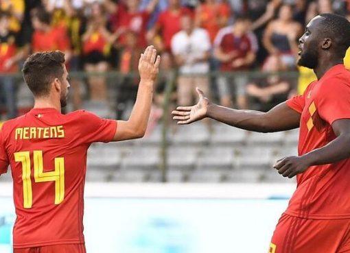 热身赛:萨拉赫缺阵阿扎尔卢卡库建功,比利时3-0埃