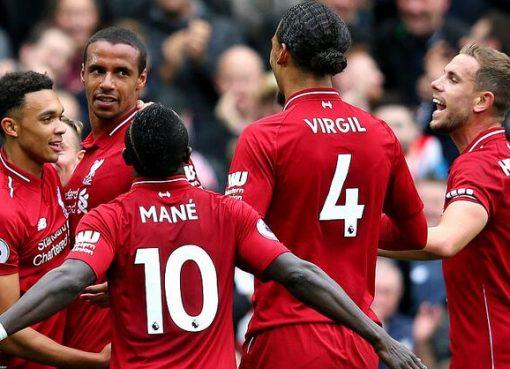 沙奇里造两球萨拉赫马蒂普破门,利物浦3-0南安普顿迎6连胜