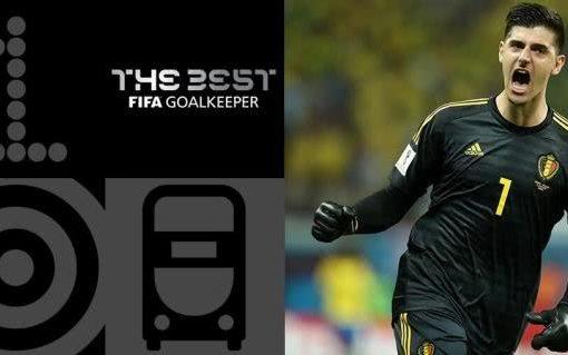 FIFA最佳门将:库尔图瓦当选 世界杯金手套再获殊荣