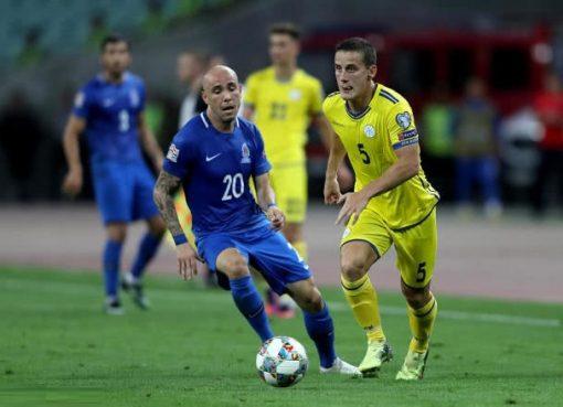 欧国联-阿塞拜疆0-0科索沃 激战90分钟难破门