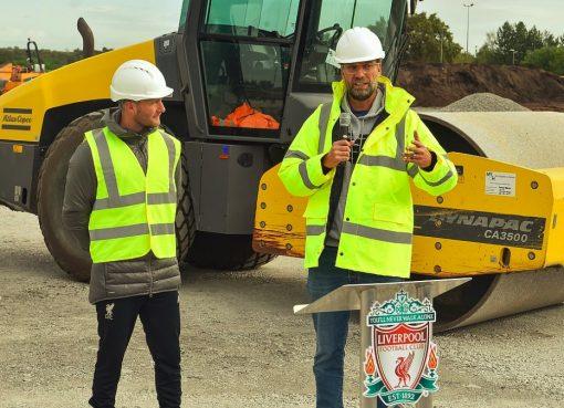 利物浦新训练场动工,克洛普:启用时我还会在这