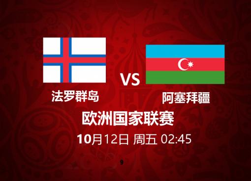 法罗群岛 VS 阿塞拜疆