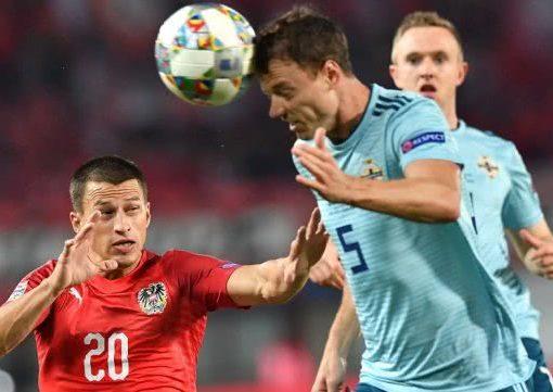 欧国联-奥地利1-0击败北爱尔兰 阿瑙托维奇建功