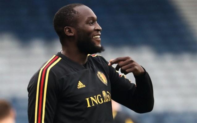 卢卡库股四头肌伤势未愈,缺席比利时国家队训练