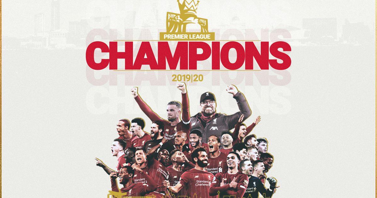 回声报:利物浦夺冠各球队表示祝贺,唯独曼联埃弗顿沉默
